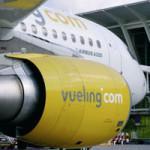 In fiamme un motore di un Airbus Vueling
