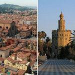 Nuovi voli Ryanair da Bologna a Siviglia e Bratislava