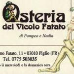 L'Osteria del Vicolo Fatato (Piglio)