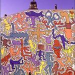 E' a Pisa l'ultima opera pubblica di Keith Haring