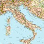 Le cartine geografiche dell'Italia