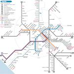 Mappa della metro di Roma