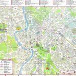 Mappa di Roma da stampare
