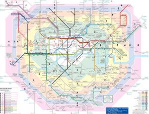 Mappa della metro di londra da stampare e conservare for Parigi non turistica