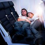 """""""Comodi"""" letti in aereo anche in seconda classe"""