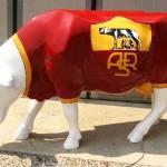 Roma invasa da mucche colorate