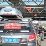 Un viaggio lungo la Via della Seta con 15 suv cinesi