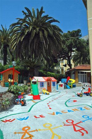 area gioco hotel del bambino