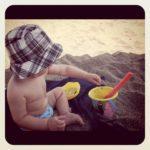 Al mare con un bambino di un anno: che stress!