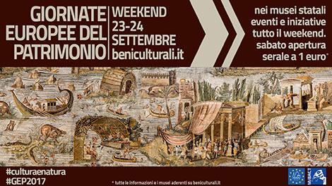 Giornate Europee del Patrimonio: i musei costano 1 euro