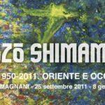 I colori di Shozo Shimamoto in mostra a Reggio Emilia