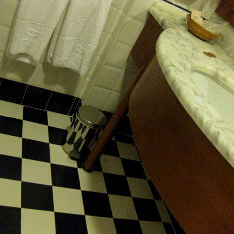 bagno dell'hotel casale