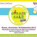 Garage Sale KIDS: il mercatino di Villa Borghese dedicato ai bambini