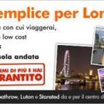 Offerta easybus: da Stansed al centro di Londra con 2 sterline