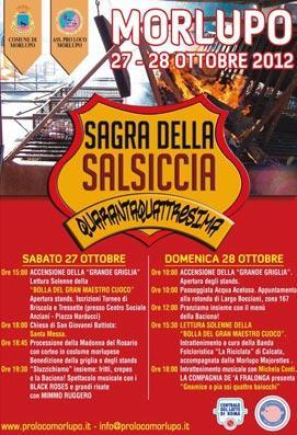 sagra della salsiccia a morlupo 2012