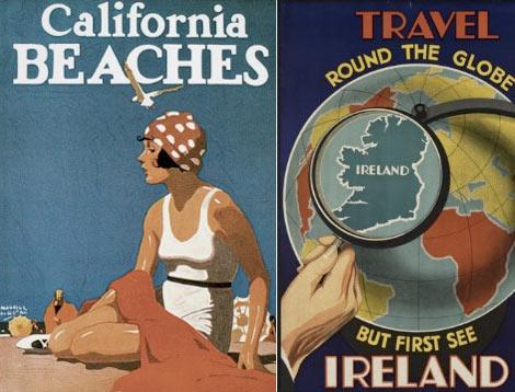 poster vintage di viaggio