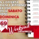Speciale Weekend in treno: con le Frecce biglietti a/r da 69 euro