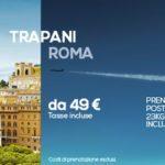 Volo low cost da Roma a Trapani con Darwin airline