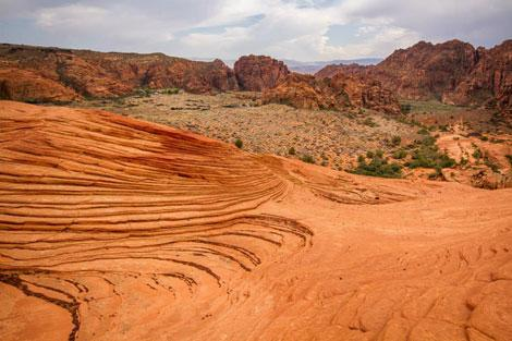 dove andare in vacanza snow canyon