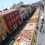 L'infiorata di Genzano di Roma: dal 27 al 30 Maggio 2016