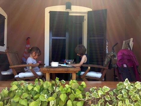 La veranda del nostro bilocale