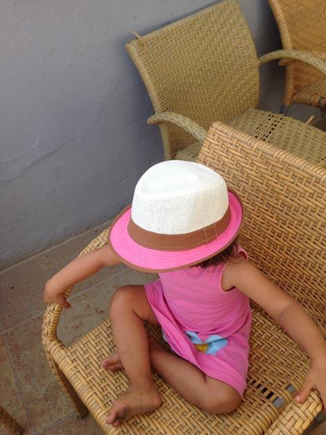 cappellino di paglia formentera