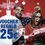 Idee regalo di Natale: buoni Ryanair da 25 euro in su