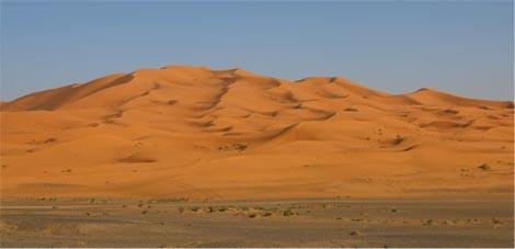 Le Dune Erg Chebbi in Marocco