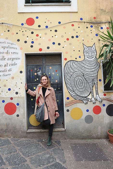 Salerno, murales nel quartiere delle Fornelle