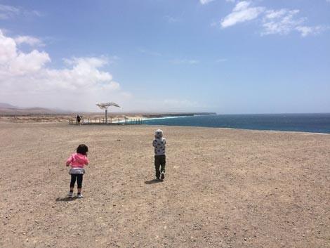 El Cotillo - VIsta sull'Oceano