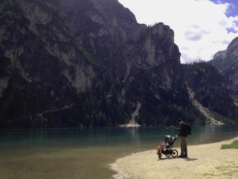 Passeggino da Trekking al lago di Braies