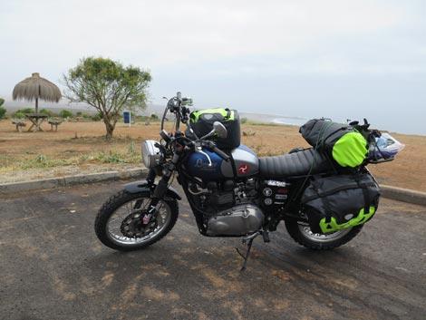 viaggio in moto santiago la serena