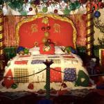 La casa di Babbo Natale alla Villa Comunale di Frosinone