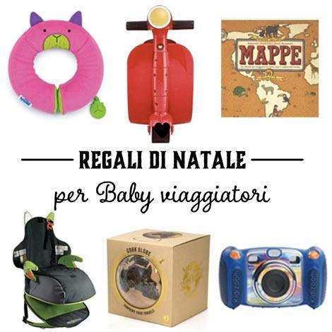 idee regalo per baby viaggiatori