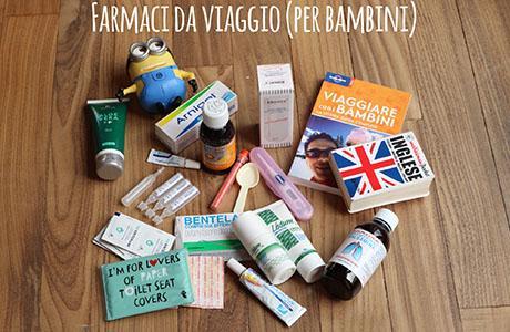Farmaci da viaggio per bambini