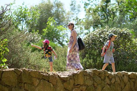 Il Giardino dei Tarocchi con bambini