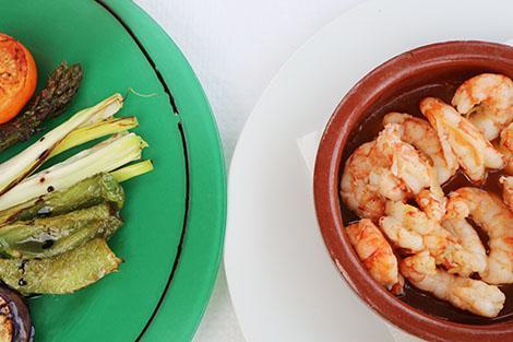Cala Blanca: Restaurante Sa Cova