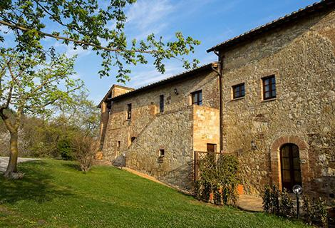 agriturismo in toscana val d'orcia