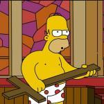 Vinci Los Angeles e il party dei Simpson