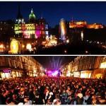 Grande festa di Capodanno ad Edimburgo