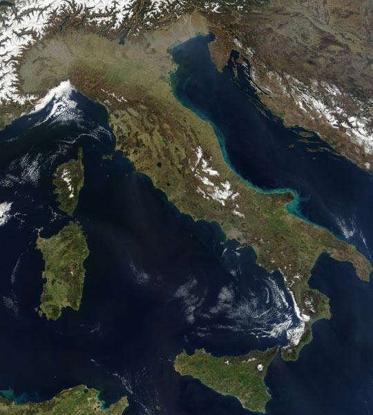Cartina Sicilia Satellite.La Cartina Geografica Dell Italia Aggiornamento 2021
