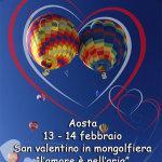 Festeggia San Valentino su una mongolfiera