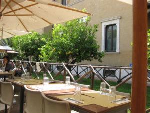 Ristorante La Limonaia a Villa Torlonia