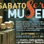 Un sabato sera alternativo? Nei musei di Roma