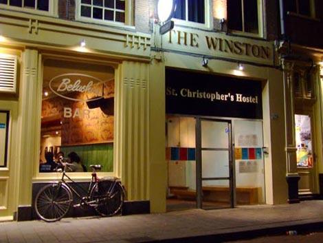 Dove dormire ad Amsterdam centro: St. Christopher\'s Inn