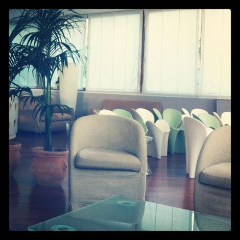 Hall dell'Hotel Bernard a San Benedetto