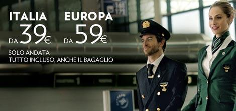 voli alitalia da 39 euro