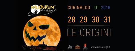 Halloween a Corinaldo, nelle Marche