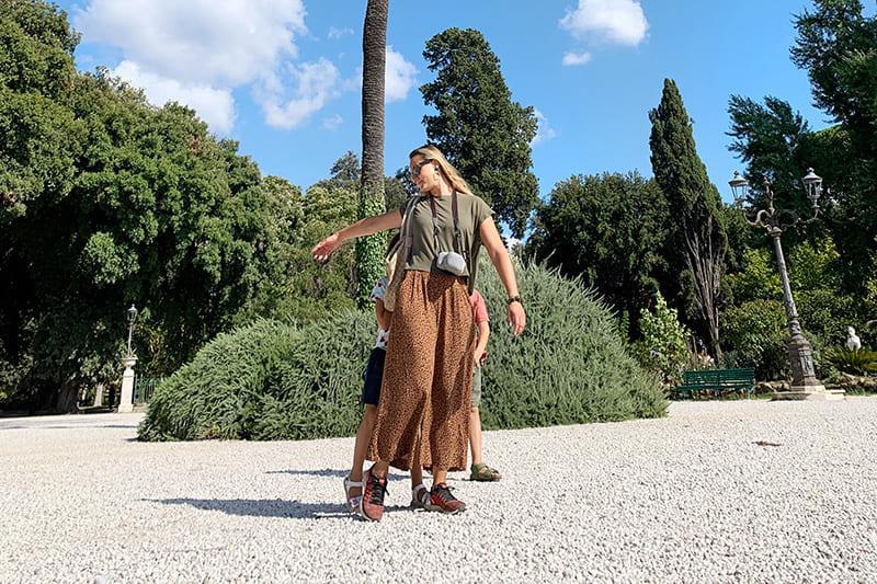 Il trenino di Villa Borghese: vacanza a Roma con i bambini