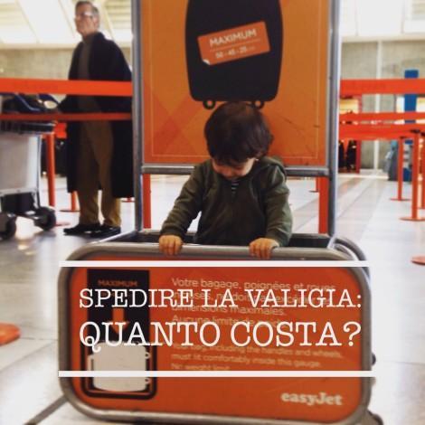 Spedire la valigia: quanto costa?